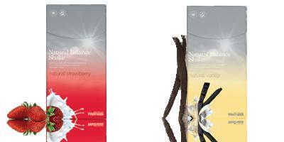 Коктейли Natural Balance с клубникой и ванилью наполняют энергией и поднимают настроение