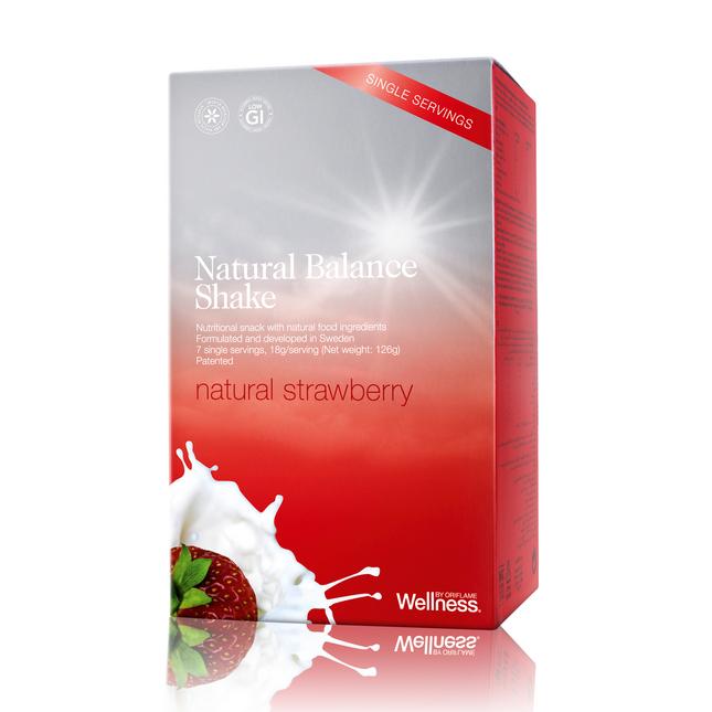 Коктейль Natural Balance (Нэчурал Баланс) клубника 7 пакетиков