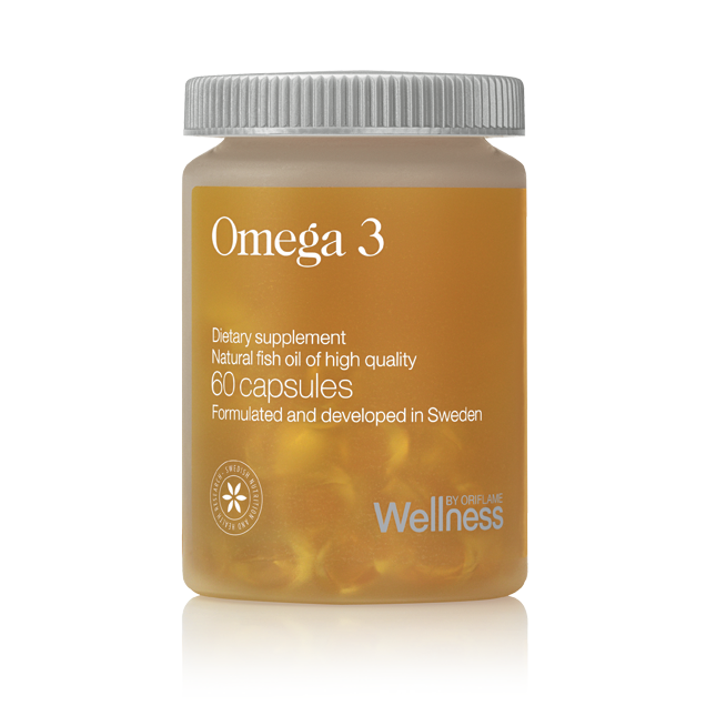 Omega-3 (Омега-3) - биологически активные соединения, сохраняющие молодость, здоровье и красоту