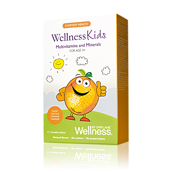 Wellness Kids Мультивитамины и минералы