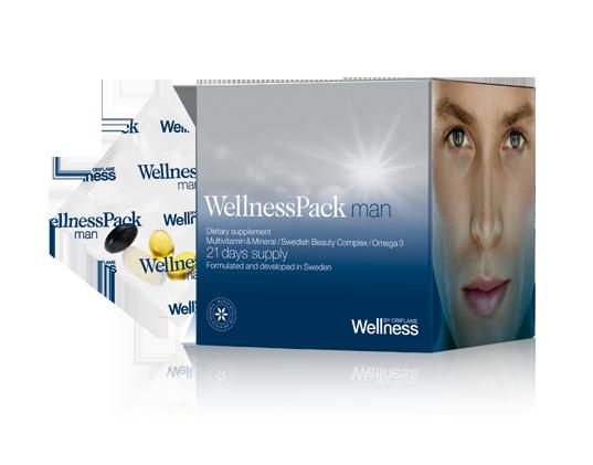 WellnessPack для мужчин: клинически доказанный эффект отличного самочувствия и великолепного внешнего вида