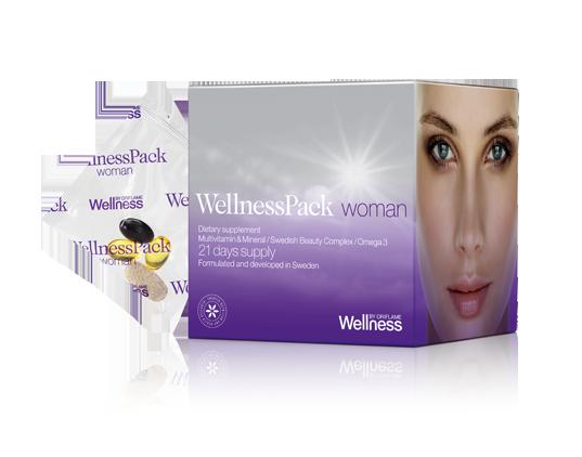 WellnessPack для женщин: клинически доказанный эффект молодости и красоты